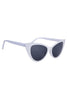 White Vintage Cat Eye Deadstock Sunglasses
