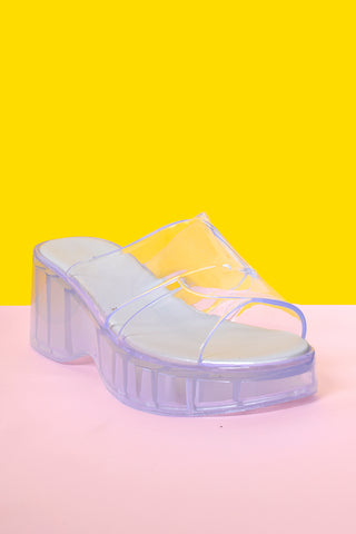 All of The Love Jelly Sandals - Ice