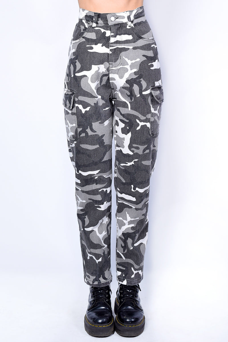 Deadstock Cadet Kelly Cargo Camo Pants
