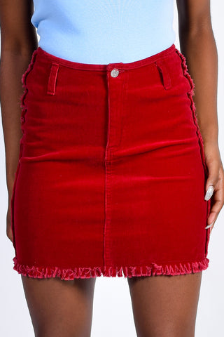 Deadstock Cherry Bomb Mini Skirt