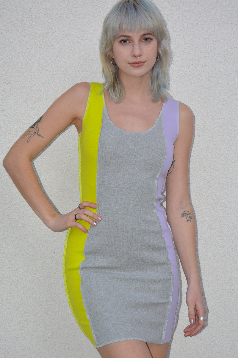 Spyware Reverse Stitch Bodycon Dress
