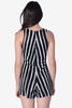 Locky Playsuit in Marker Pen Stripe by Motel