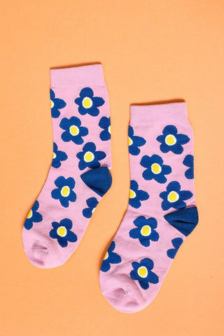 Daisies of Love Flower Socks