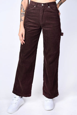 Deadstock Corduroy Carpenter Pants - Brown