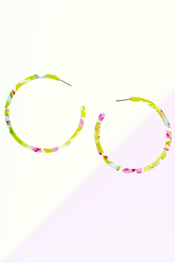 Miami Vibe Hoop Earrings