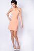 Deadstock Butterfly Effect Peach Chiffon Dress