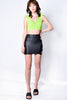 Grommet Girl Fitted Mini Skirt