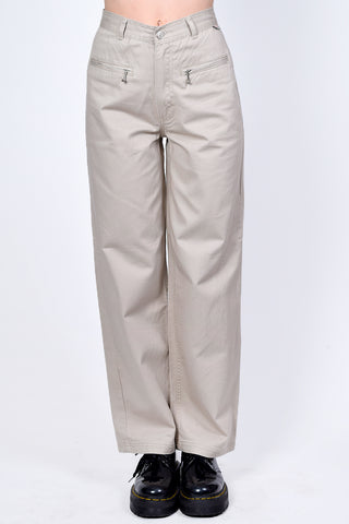 Deadstock Kimberley Khaki Zip Top Wide Leg Pants