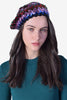 Sequin Rainbow Beret
