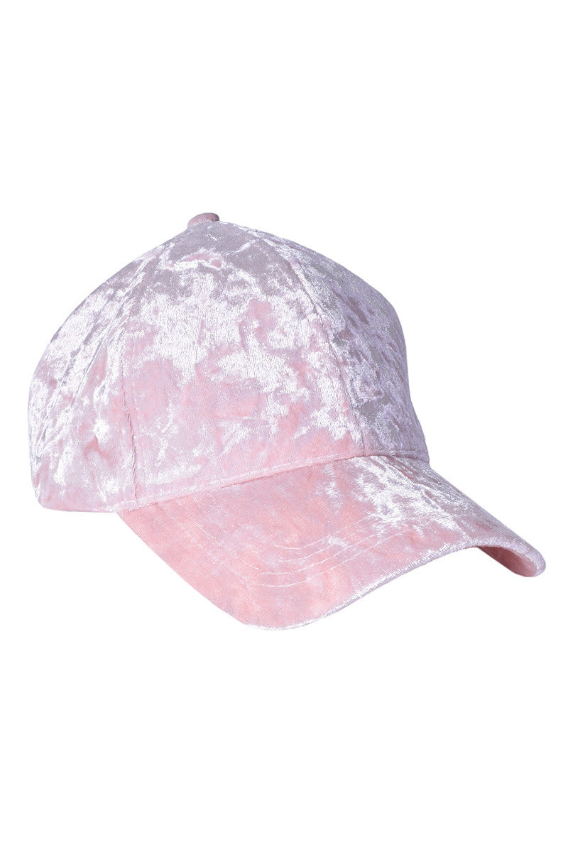 Velvet BB Girl Hat - Light Pink