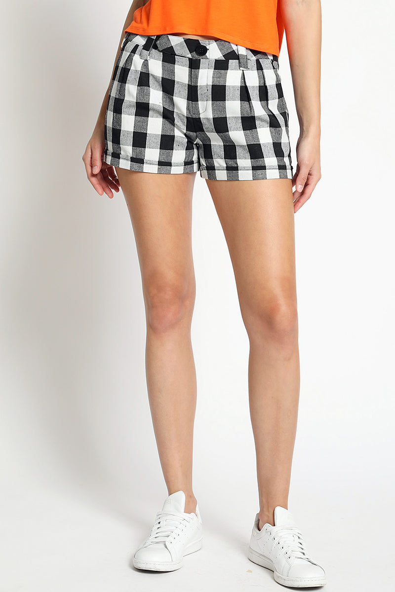 Peggy Gingham Shorts