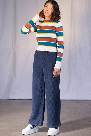 Auburn Stripe Sweater by Dickies Girl