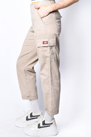 Khaki Cargo Utility Pants by Dickies Girl