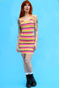 Kat Bold Stripe Knit Bodycon Dress