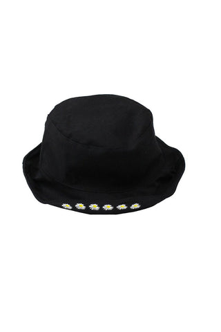 Blossom Bucket Hat - Black
