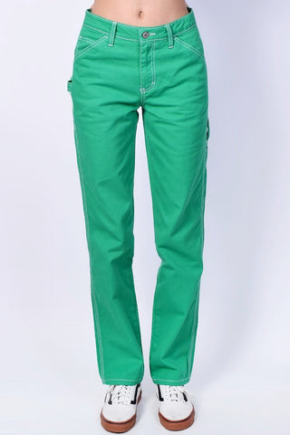 Green Relaxed Carpenter Pants by Dickies Girl