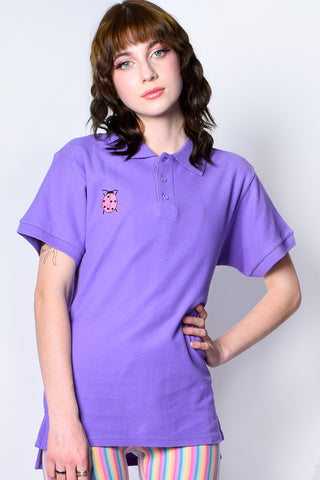 ECH Collection QT LadyBug Oversized Polo