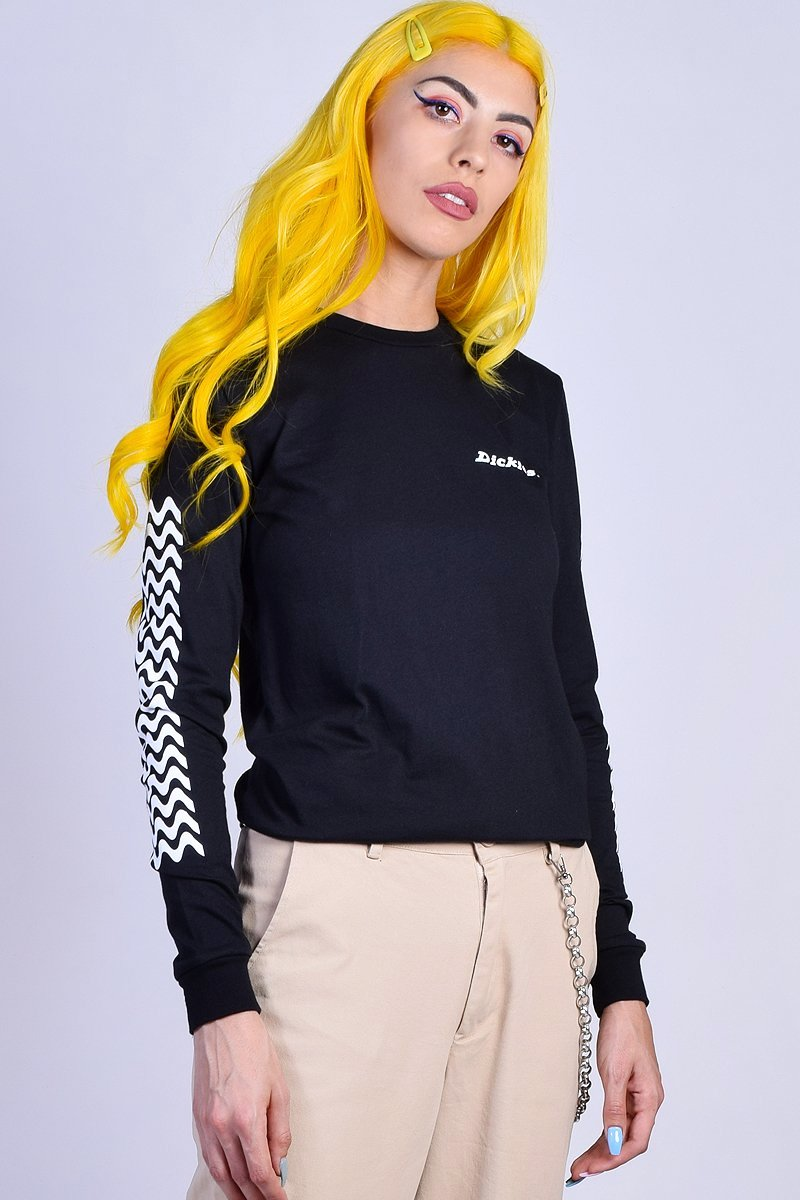 Long Sleeve Tread Tee by Dickies Girl