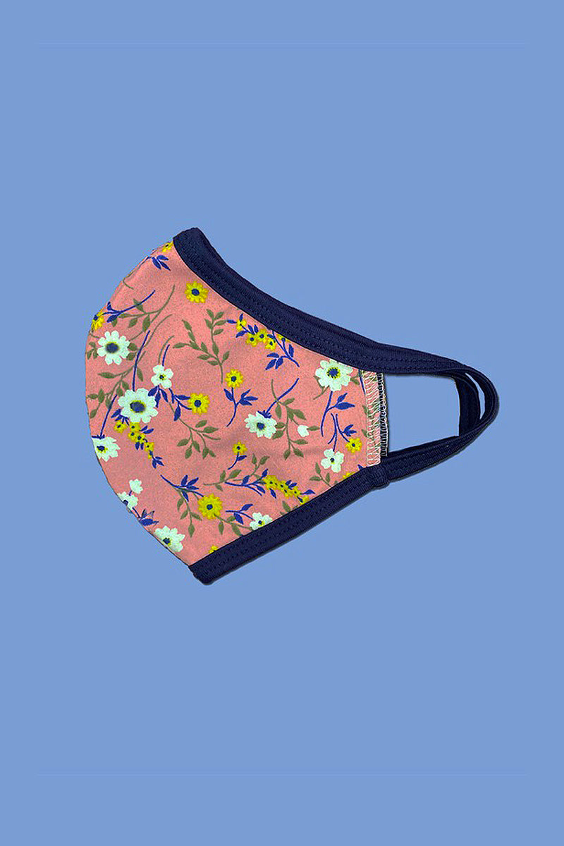 Floral Reusable Face Mask