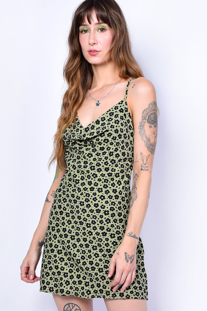 Daisy Chain Strappy Floral Dress
