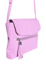 Tassel Zip Side Bag - Lilac