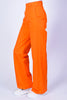 Orange Wide Leg Work Pants by Dickies Girl