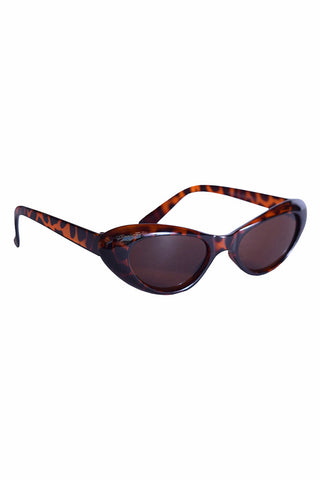 Vintage Cat Eye Deadstock Sunglasses - Tortoise Shell