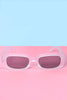 World Turned Day-Glo Rectangle Sunnies