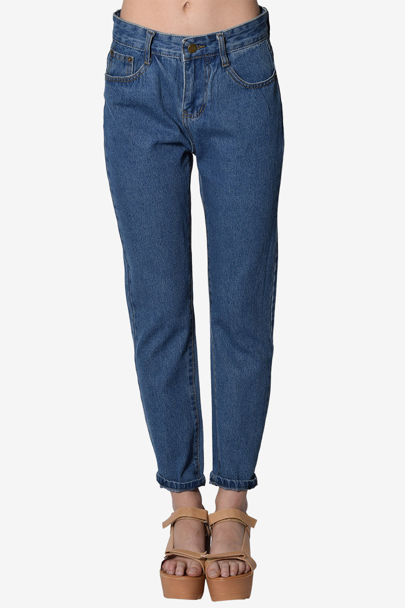 Lily High Rise Mom Jeans