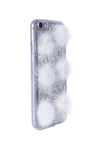 Sparkle & Puff iPhone Case