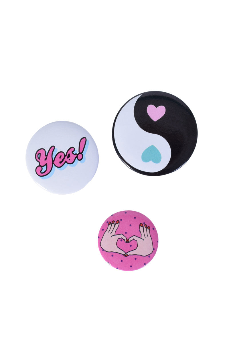 Yes to Love Pin Pack