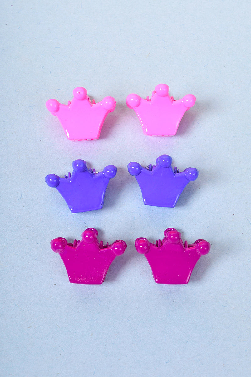Y2K 100% Princess Mini Clip Set