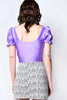 Pretty Pretty Princess Puff Sleeve Blouse - Lilac