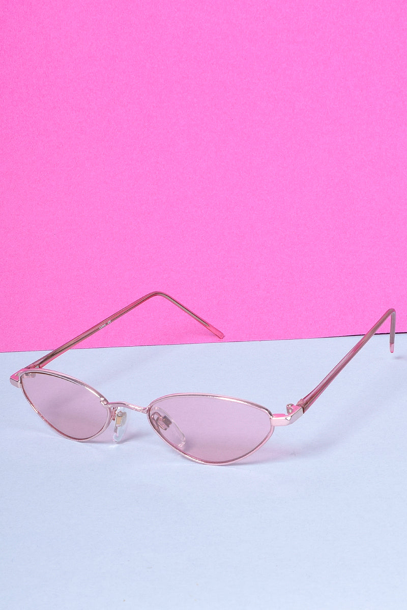 Pink Love Cateye Deadstock Sunglasses
