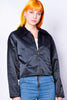 Deadstock Lauren Fuzzy Collar Zip Jacket