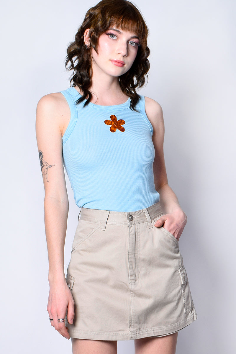 Two Sides Of The Story Deadstock Skort - Khaki