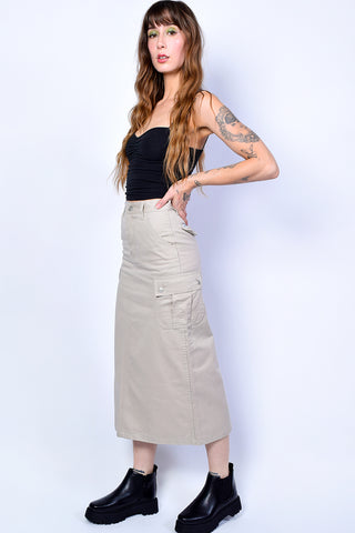 Deadstock Molly Cargo Midi Skirt