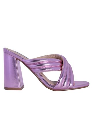Barbie Metallic Mule