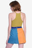 Carly Color Block Skirt