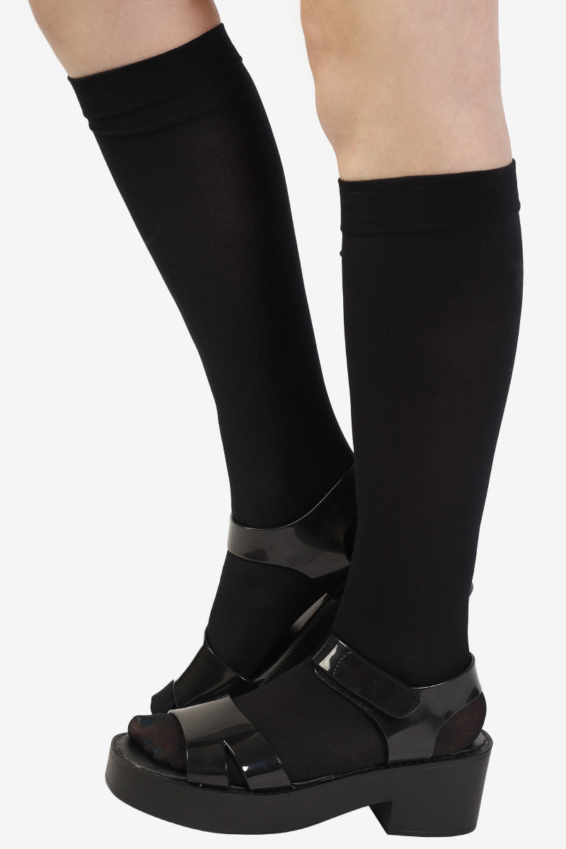 Knee High Socks - Black