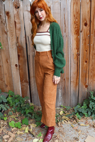 Cabin Fever Wide Leg Corduroy Pants