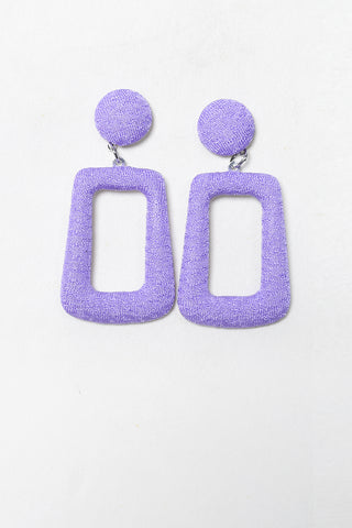 All Squared Up Deadstock Earrings