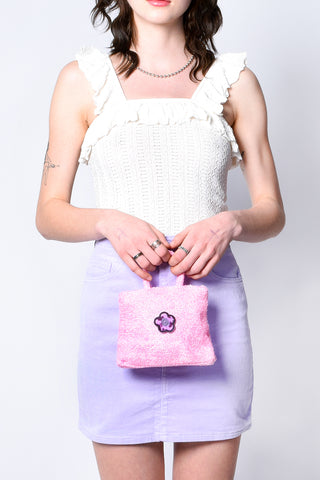 ECH Collection Fuzzy Super Mini Bags
