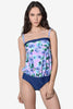 Liv Floral Blouse Bathing Suit