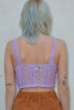 It's Not Over Lace Corset - Lilac