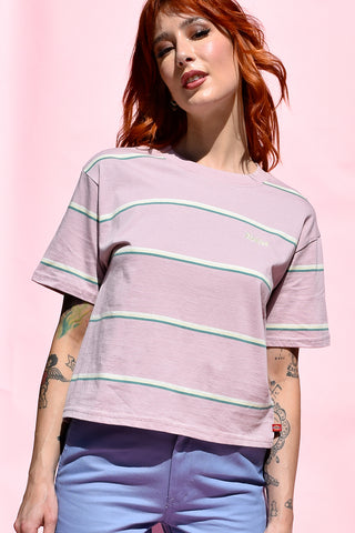 Lliac Tomboy Stripe Tee by Dickies Girl