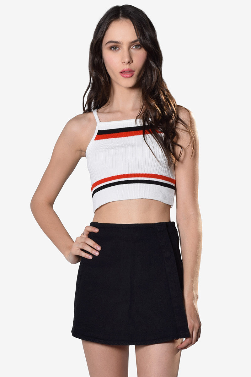 Tennis N E One Crop Tank