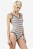 Javior Striped Leotard By ECH