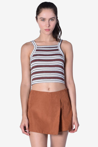 Striped Out Tank - Rust