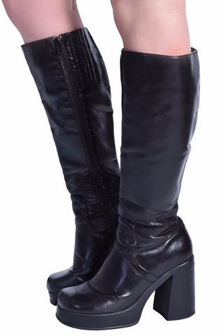 ECH Vintage Debi Knee High Boots